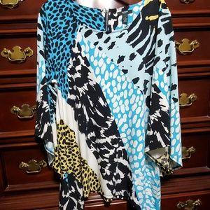 Women's Alfani  NWOT Bell Sleeve Blouse Size 1X